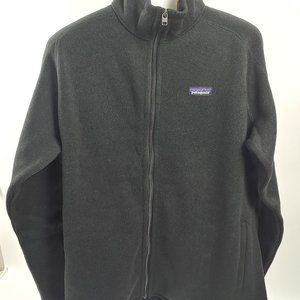 Patagonia Better Sweater Jacket Black Size XL NWT